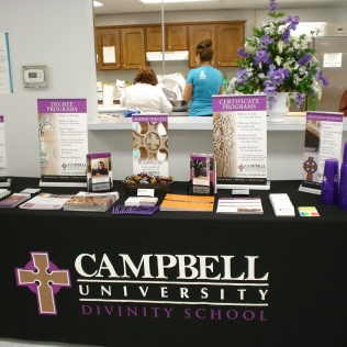 CAMPBELL UNIV. DISPLAY