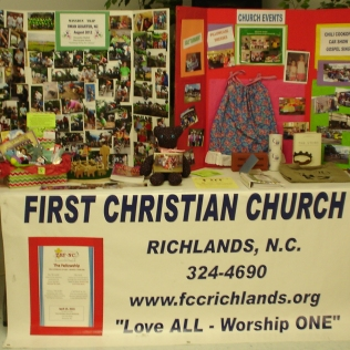 FCC RICHLANDS DISPLAY