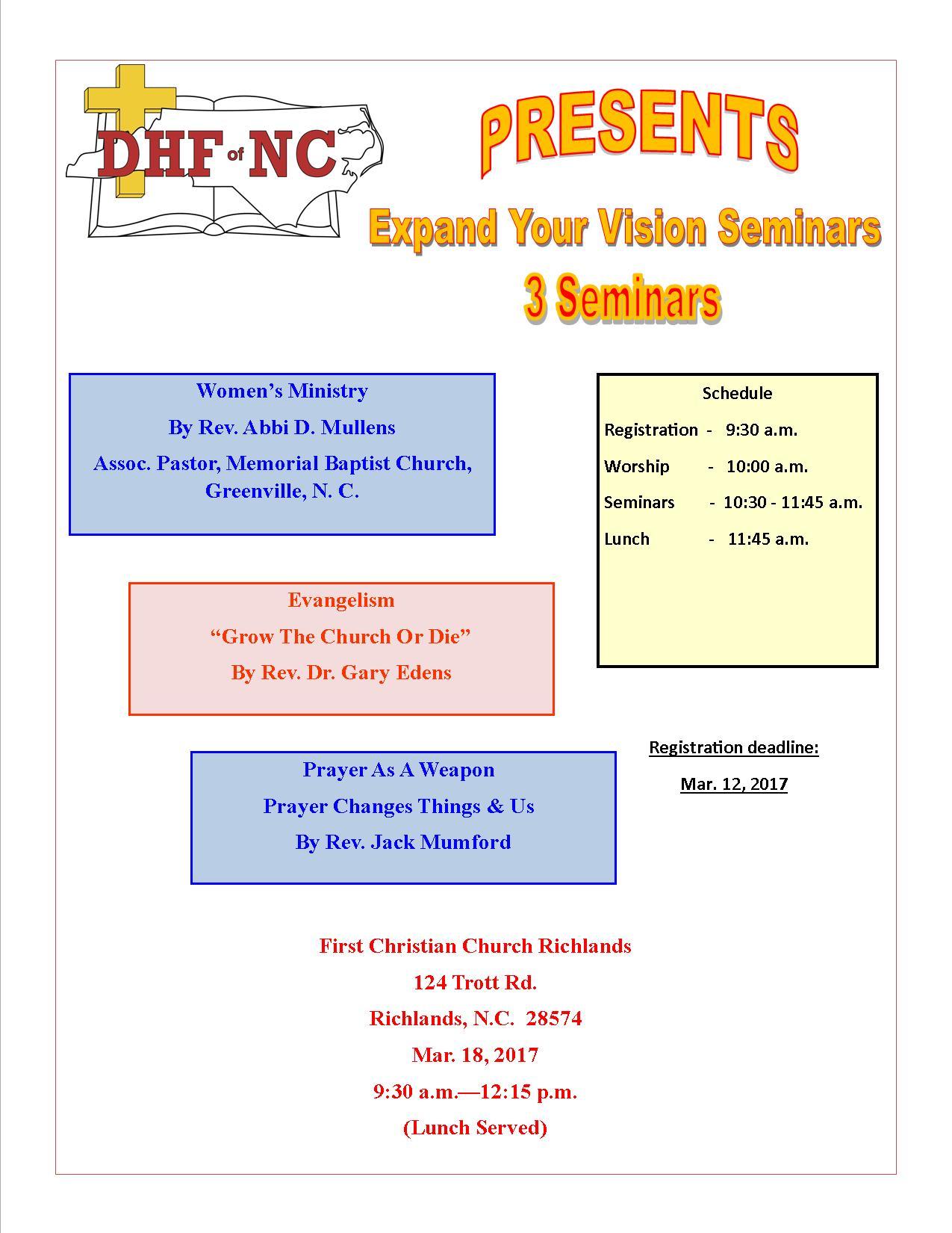 Seminar Poster 3-18-2017