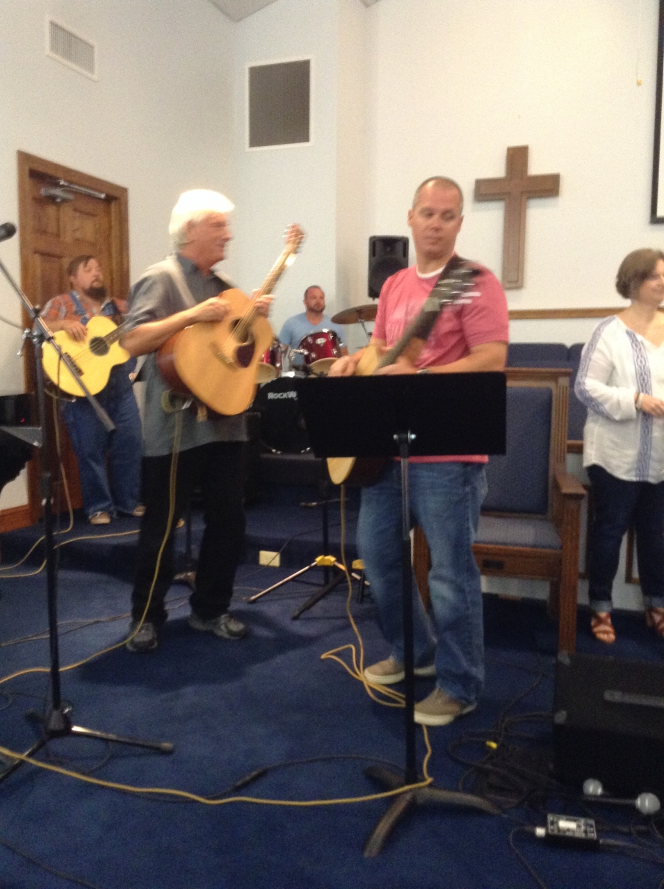 A little Country Gospel by Rick Vernon and 902 Praise Band